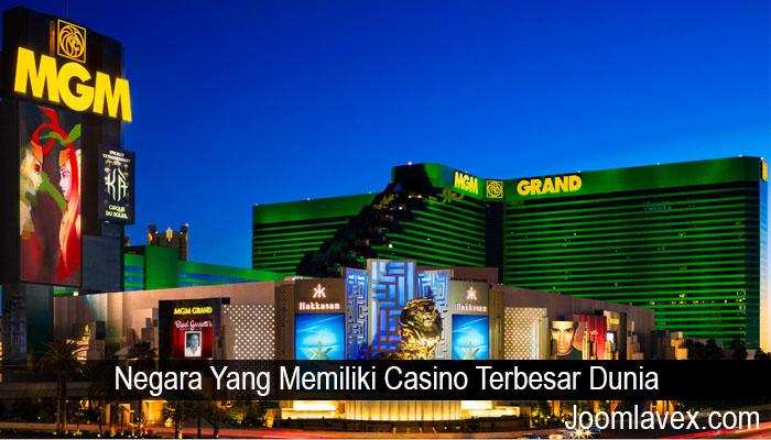 Negara Yang Memiliki Casino Terbesar Dunia