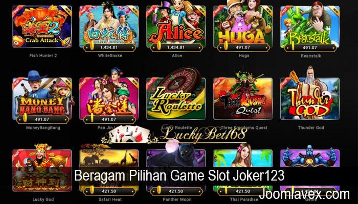 Beragam Pilihan Game Slot Joker123